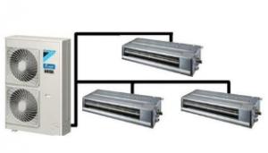 VRV空调系统,多联机的使用